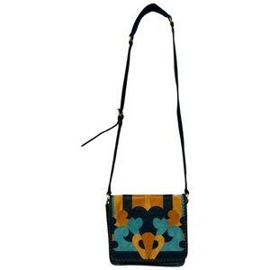 Nanette Lepore Shoulder Patch Flap Messenger Bag